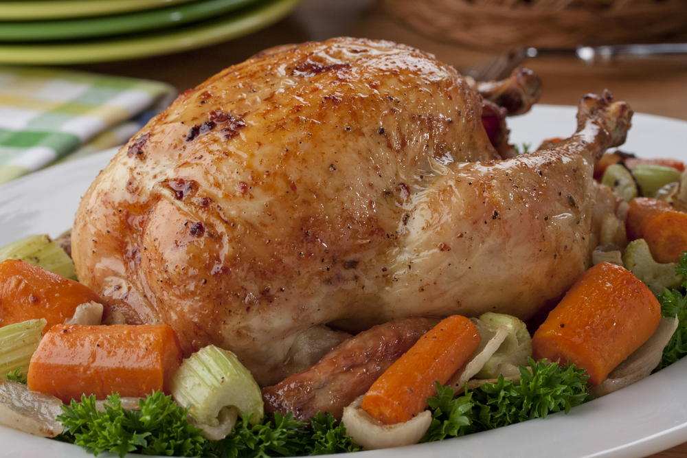 Roasted Chicken With Vegetables Mrfood Com
