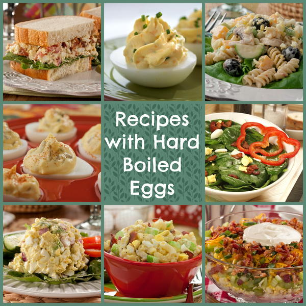 10 Recipes with Hard Boiled Eggs