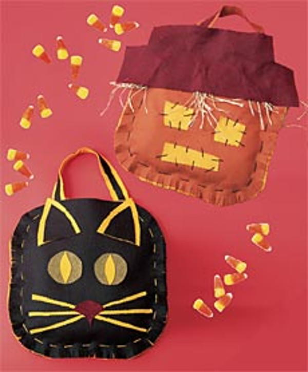 Halloween Treat Bags Allfreesewing Com