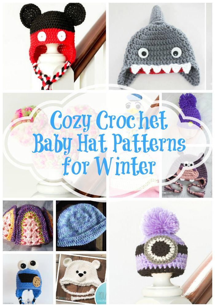 9737c24b6c9 21 Cozy Crochet Baby Hat Patterns for Winter