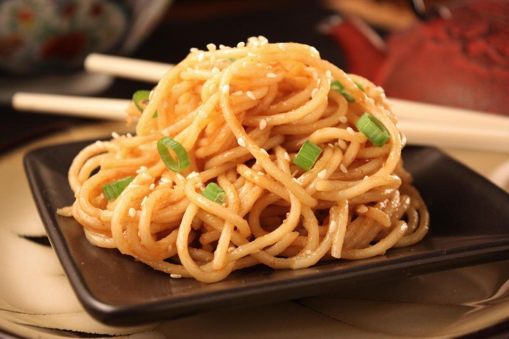 Cold Sesame Noodles   MrFood.com