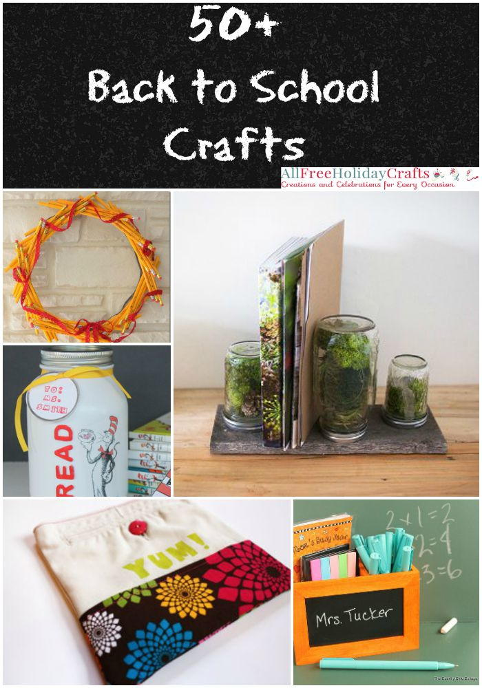 50 back to school crafts for All free holiday crafts