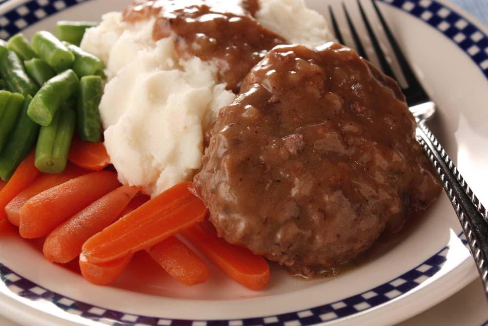 Country Style Salisbury Steak | MrFood.com