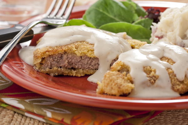 Country-Bumpkin Fried Steak