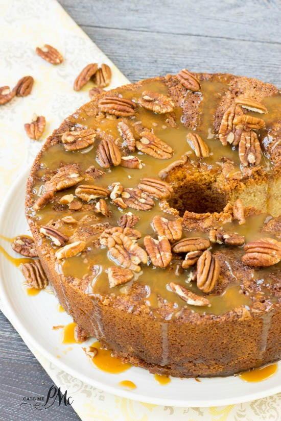 Buttery Pecan Pie Pound Cake Favesouthernrecipes Com