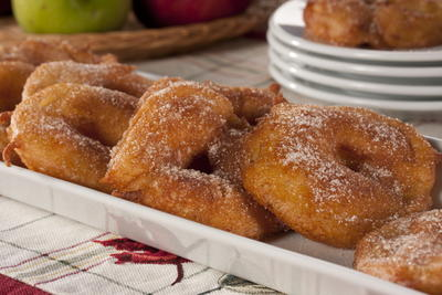 Crispy Apple Rings