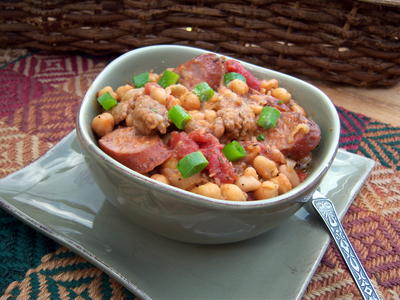 Sausage and Bean One Pot