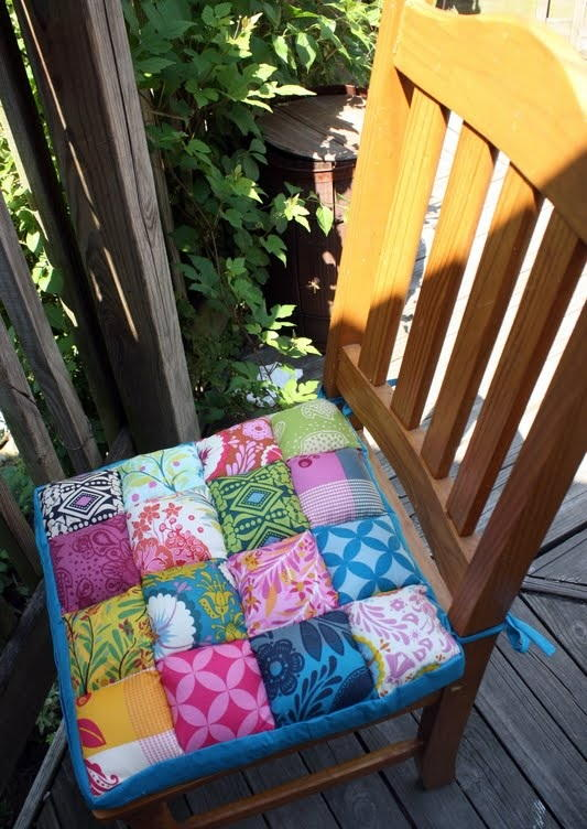 Comfort Meets Quilting Chair Cushions | AllFreeSewing.com
