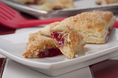 Double Cherry Turnovers