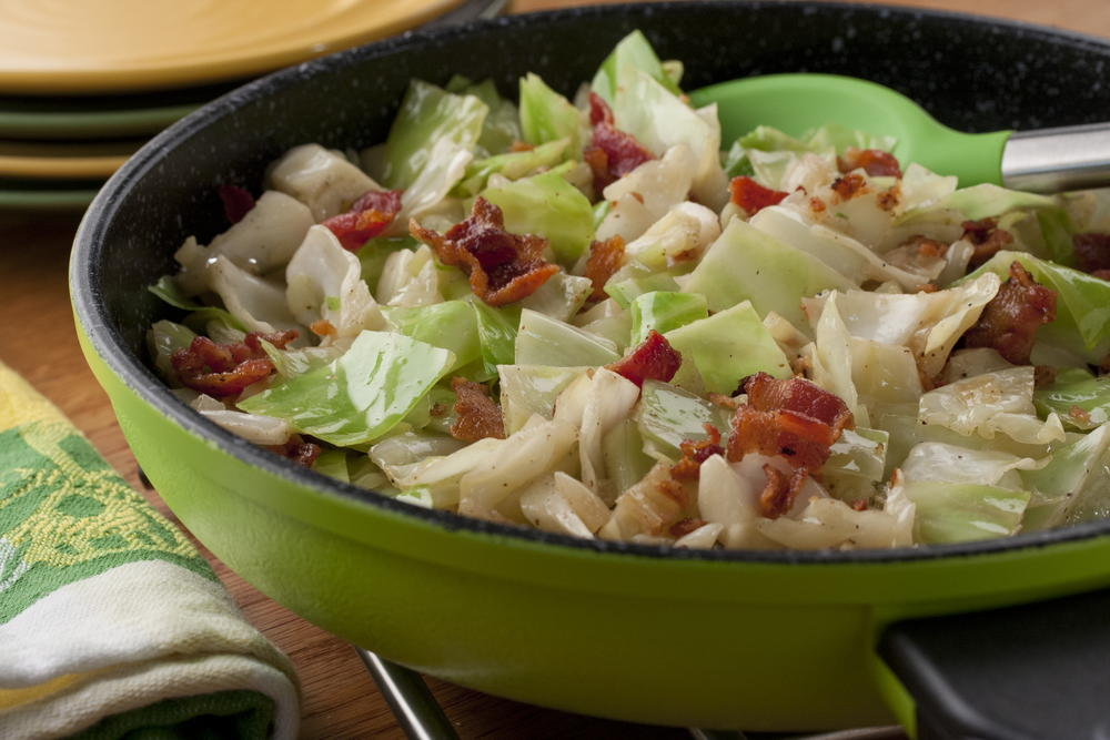 Fried Cabbage Mrfood Com