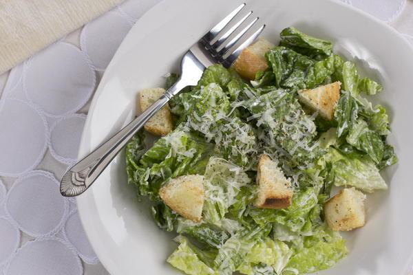 Easy Caesar Salad | MrFood.com