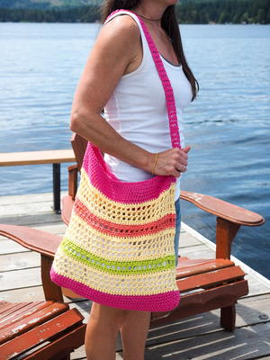 Crochet Beach Tote Bag Pattern