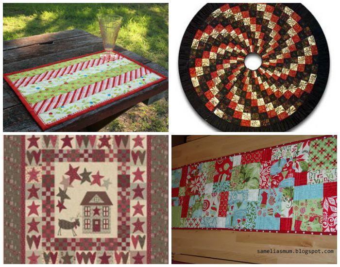 Free Christmas Quilt Patterns To Download.Deck The Halls 8 Free Christmas Quilt Patterns Favequilts Com