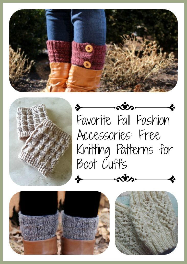 Favorite Fall Fashion Accessories: 13 Free Knitting ...