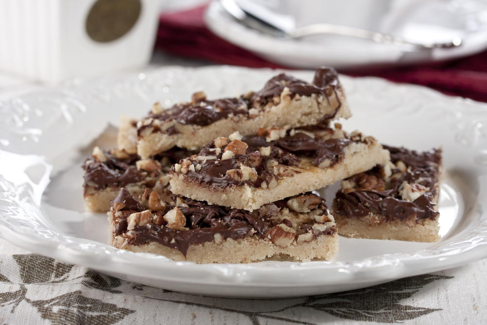 Chocolate Chip And English Toffee Cookie Bars