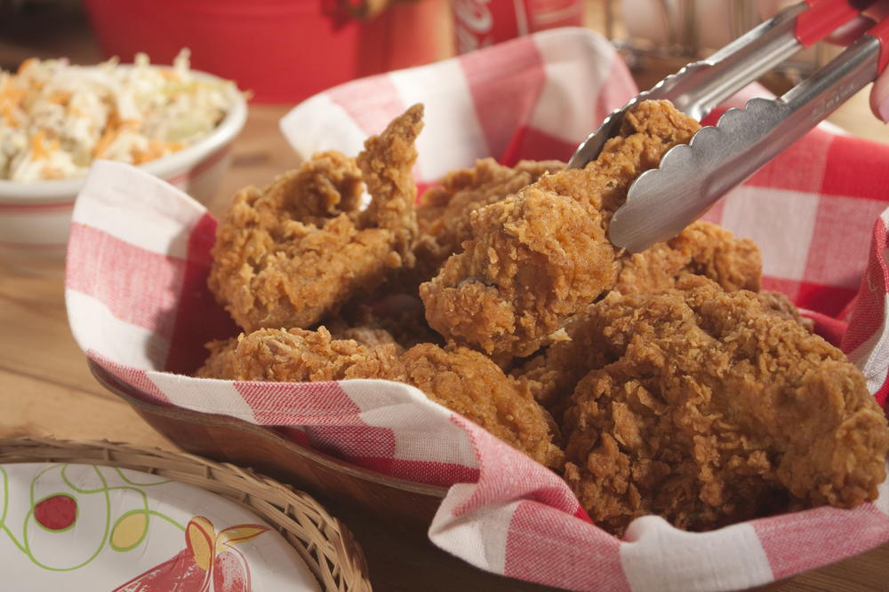 how to keep fried chicken crispy