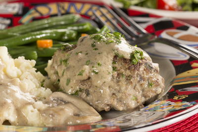 Fifties-Style Salisbury Steak