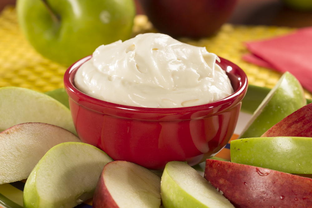 prune fruit fruit dip with cream cheese