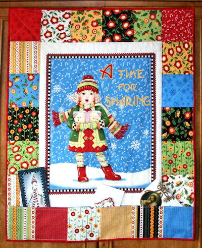 Christmas Caroler Card Holder