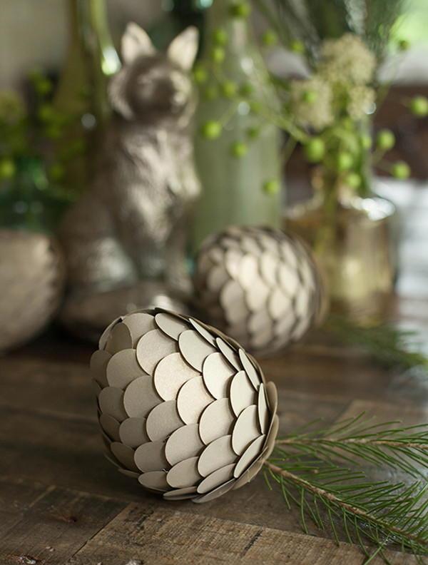paper pine cone crafts