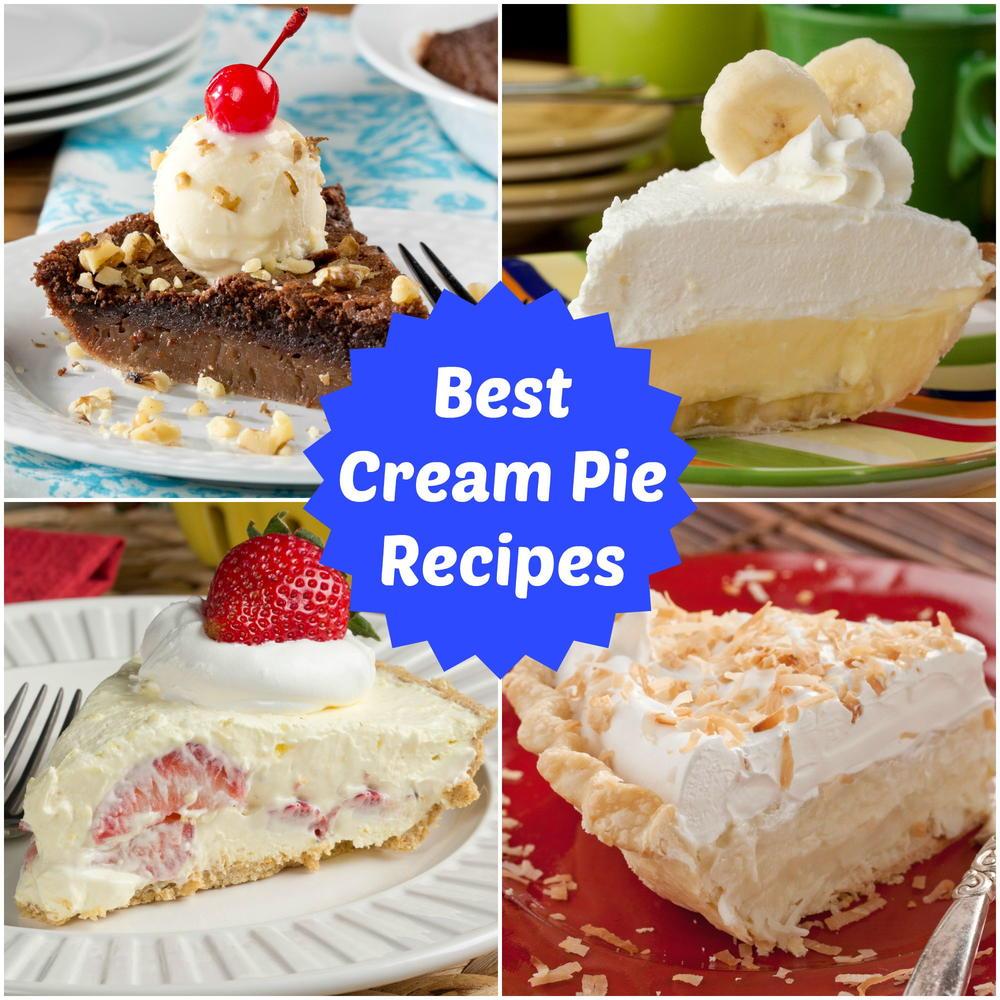 Cream Pie Recipes