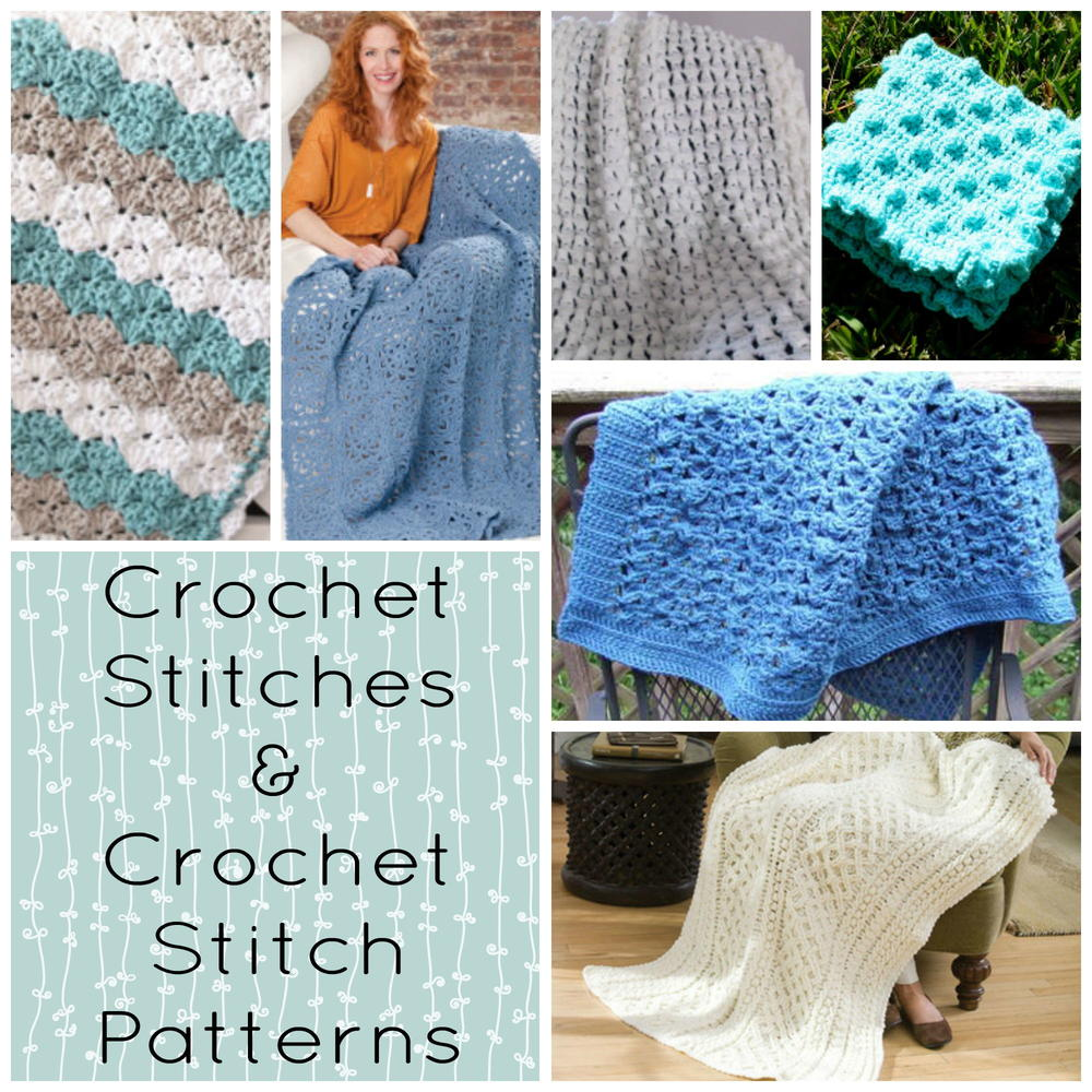 Free Crochet Patterns Using Afghan Stitch : Crochet Stitches & Crochet Stitch Patterns ...