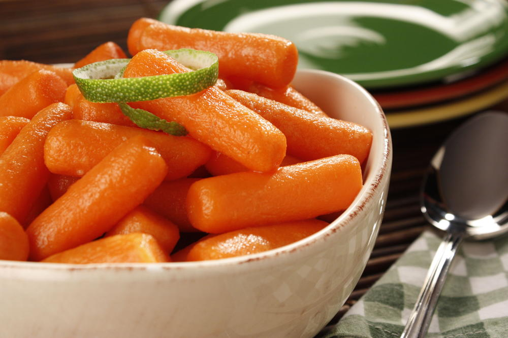 Glazed Baby Carrots Mrfood Com