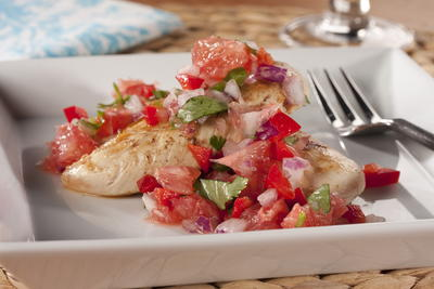 Grapefruit Salsa