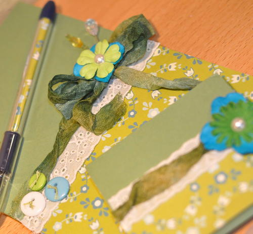 Embellished Stationery Set