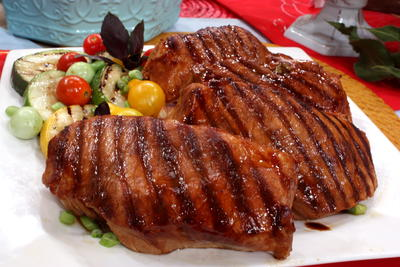 Grilled Asian Pork Chops