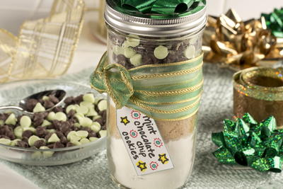 Mint Chocolate Chip Cookies Mix