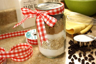 Oatmeal Chippers in a Jar