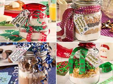 Homemade Christmas Gifts Ideas.10 Homemade Christmas Gifts In A Jar Mrfood Com