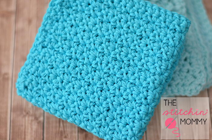 Easy Textured Washcloths Allfreecrochet Com