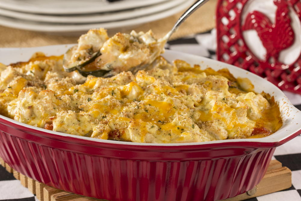 Chicken And Squash Casserole Everydaydiabeticrecipes Com