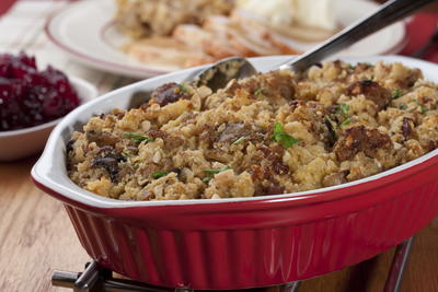 Holiday Sausage Stuffing