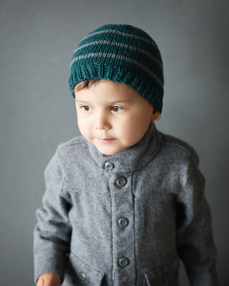Knitted Baby Boy Hat Patterns : Toddler Boy Knit Hat Pattern AllFreeKnitting.com