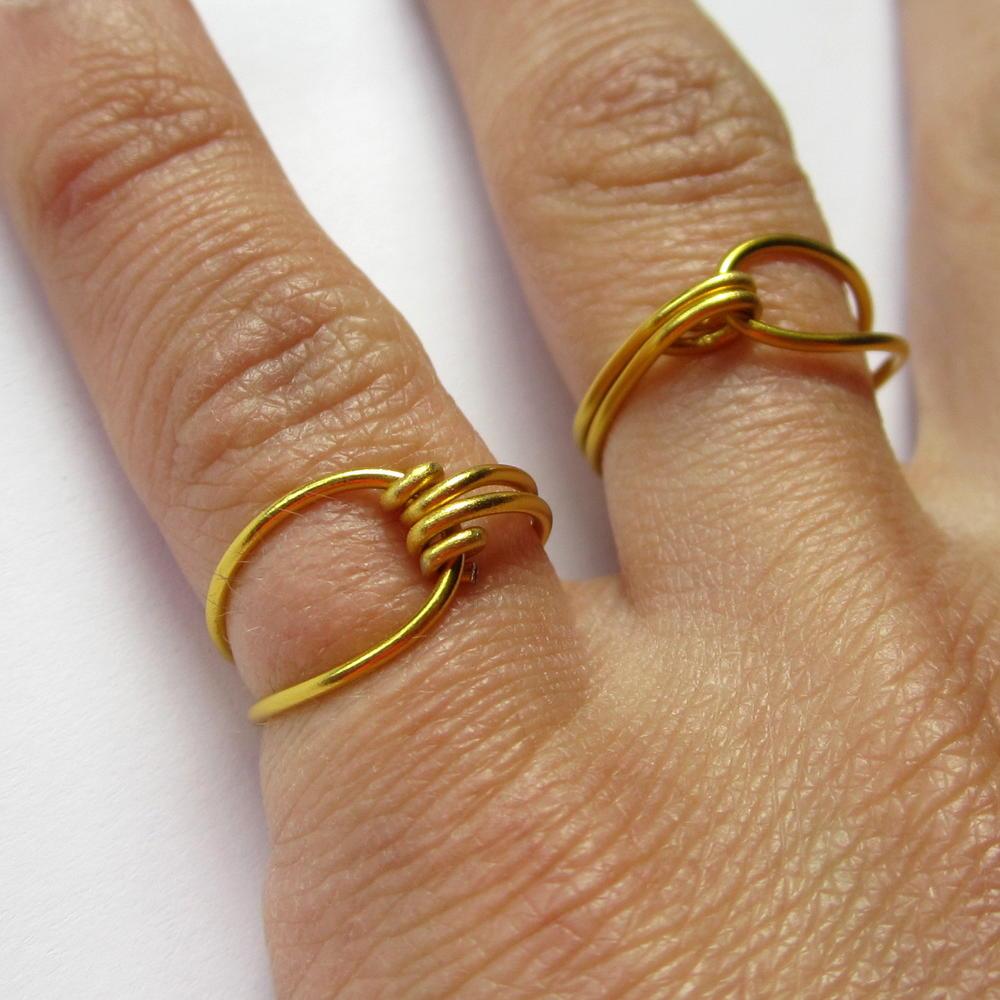 Wire Ring DIY | AllFreeJewelryMaking.com