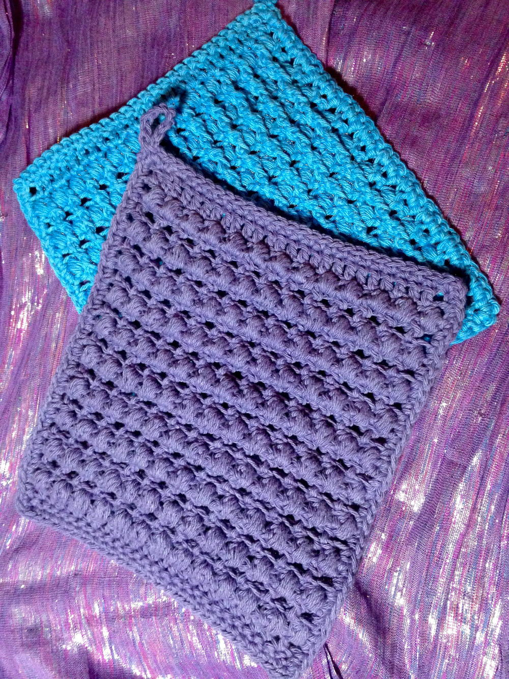 Thick And Bumpy Potholder Allfreecrochet Com
