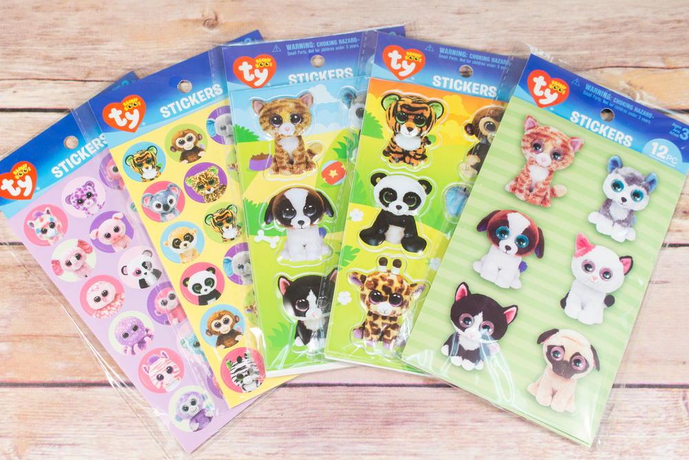 Beanie Boos Stickers  f2abd214718