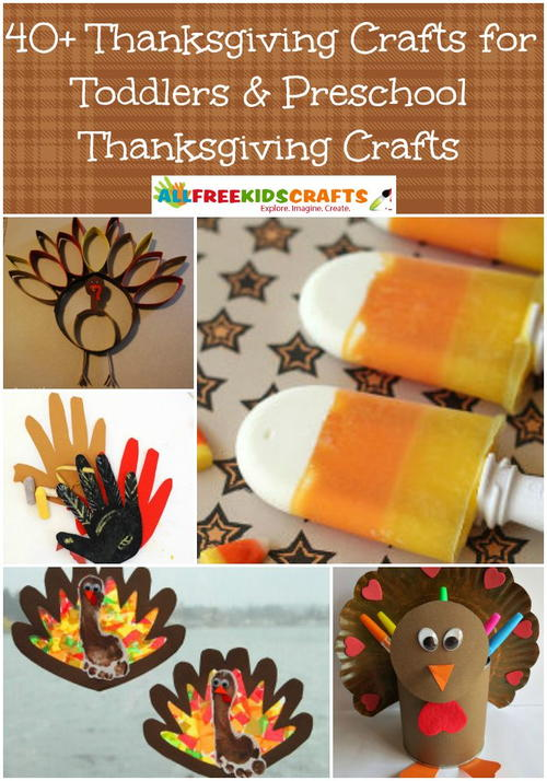 40 thanksgiving crafts for toddlers preschool for Thanksgiving crafts for preschoolers free