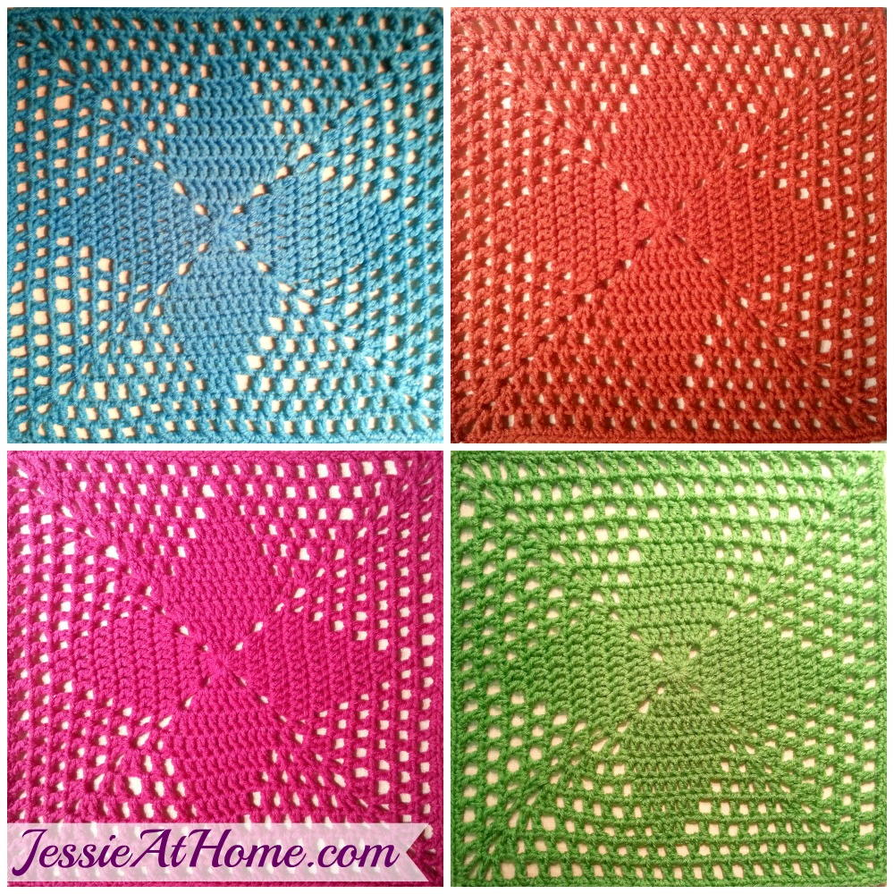 Four Points Crochet Square Allfreecrochet Com