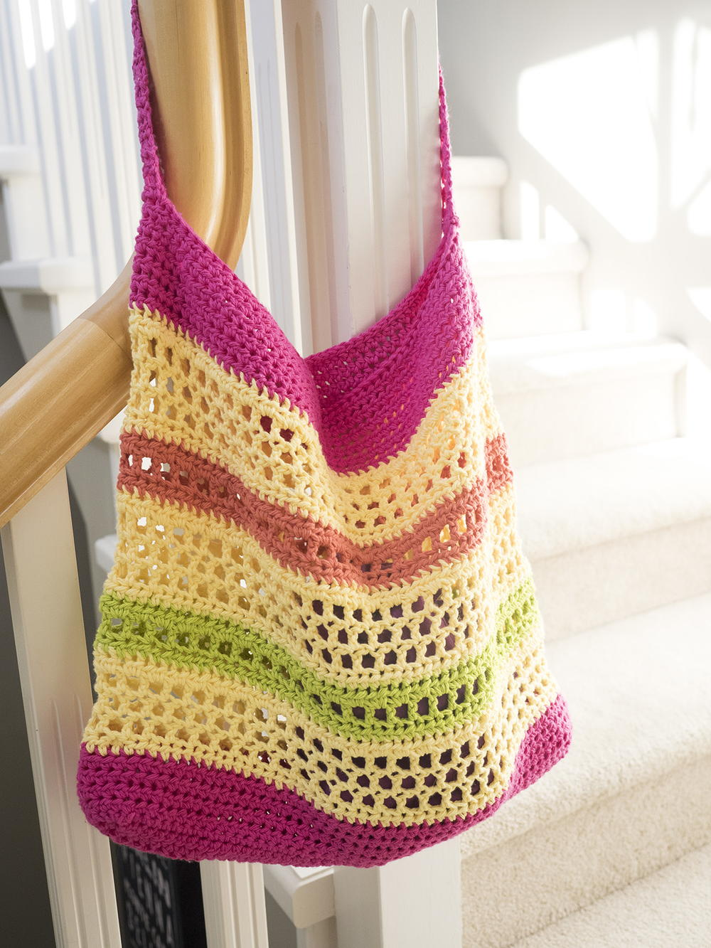 Crochet Beach Tote Bag Allfreecrochet Com