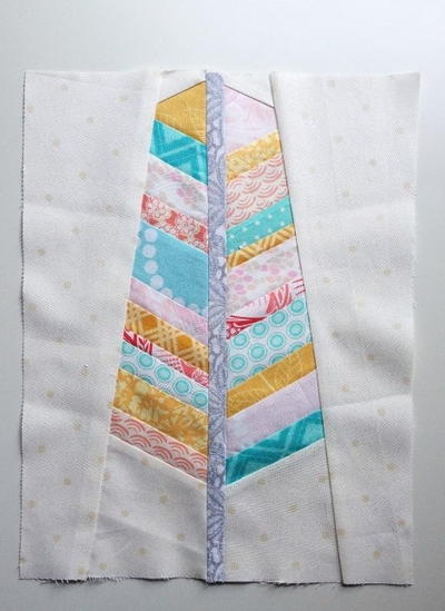 Feather Paper Piecing Pattern Favequilts Com