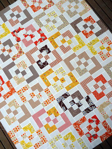 Bento Box Scrap Quilt Favequilts Com