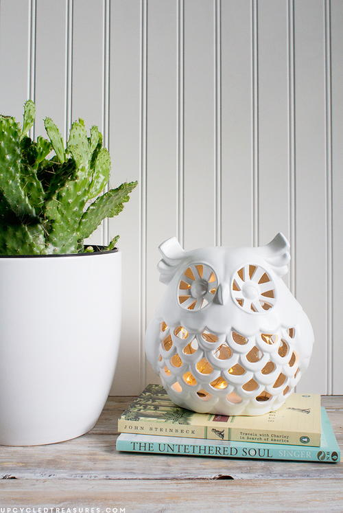 Vintage DIY Owl Nightlight