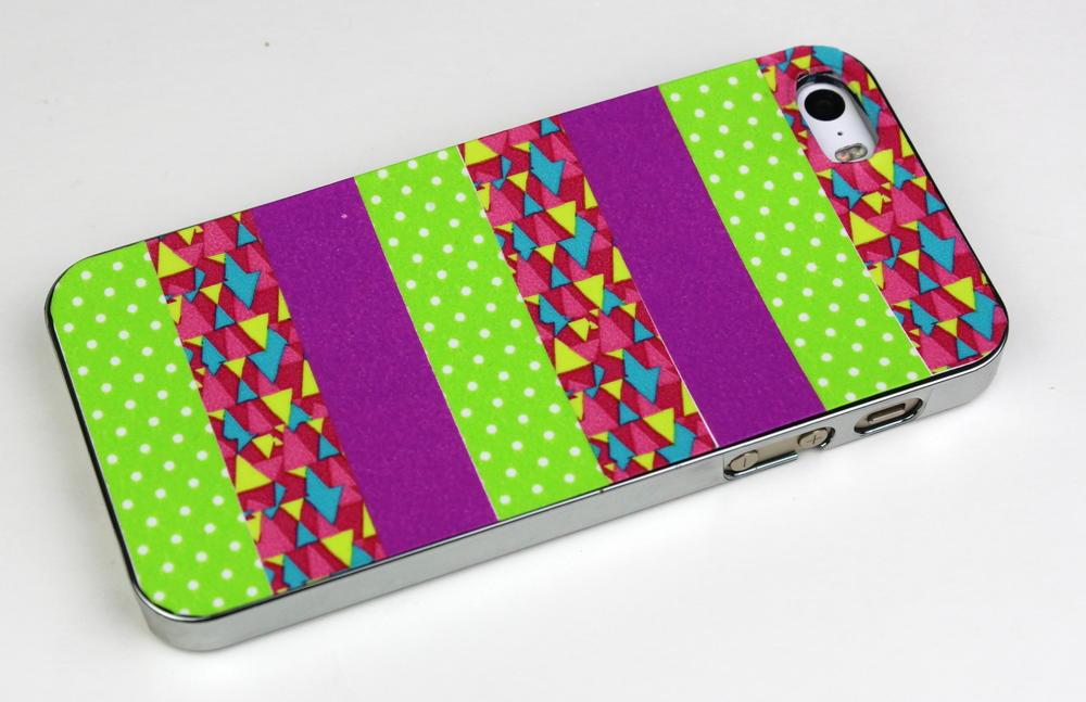 Washi tape phone case for Washi tape phone case