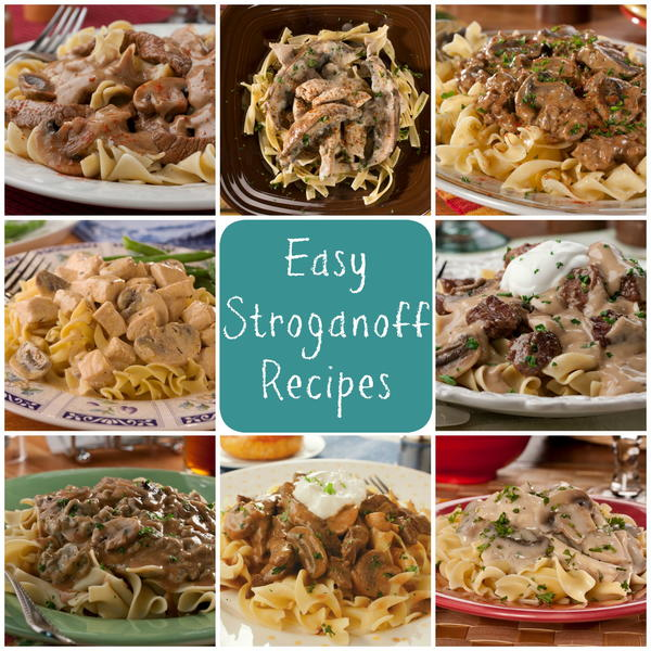 Easy chicken or beef recipes