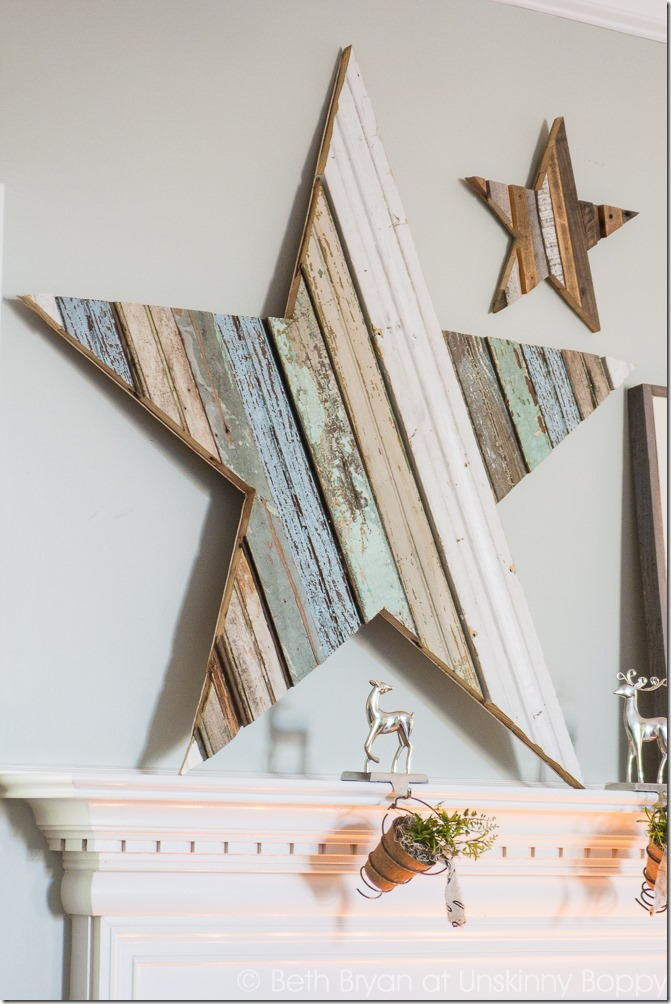 Giant Wooden Christmas Star Favecrafts Com
