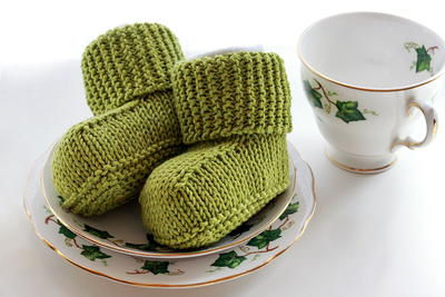 Darling Knitted Baby Uggs